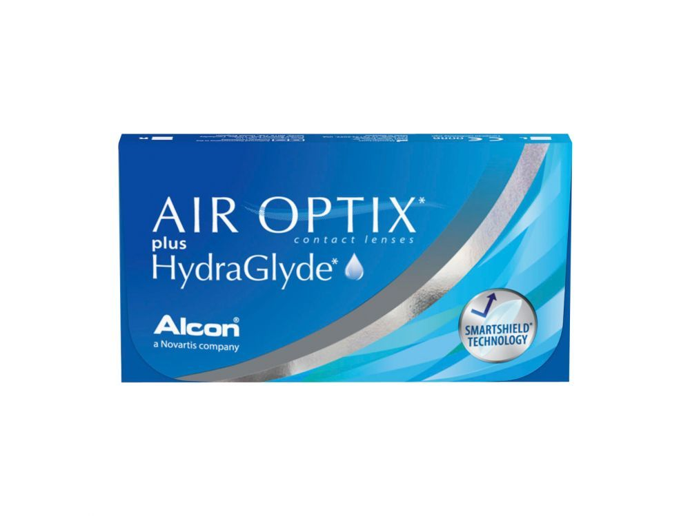 Air Optix Plus HydraGlyde (3 lentile)
