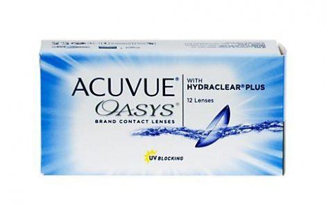 Acuvue Oasys cu Hydraclear Plus (12 lentile)