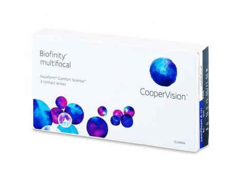 Biofinity Multifocal (3 lentile)