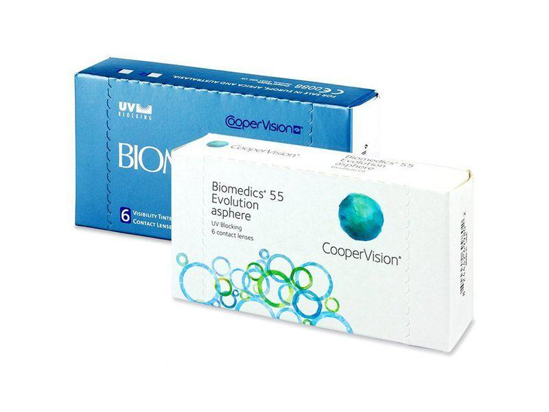 Biomedics 55 (6 lentile, BC: 8.6)