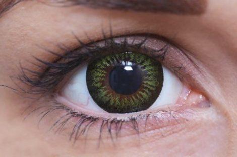 ColourVUE BigEyes Party Green (2 lentile)