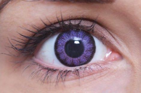 ColourVUE BigEyes Ultra Violet (2 lentile)