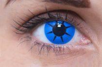 ColourVUE Crazy Blue Star (2 lentile)