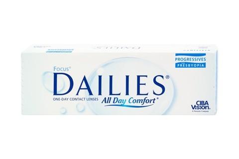 Focus Dailies All Day Comfort Progressives (30 lentile)