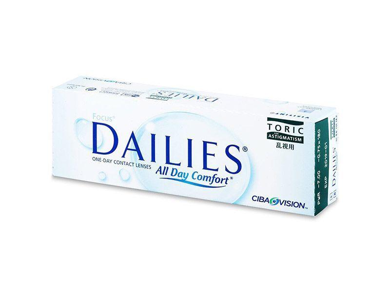 Focus Dailies All Day Comfort Toric (30 lentile)