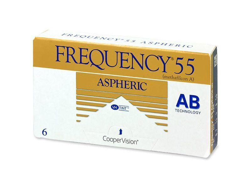 Frequency 55 Aspheric (6 lentile, BC: 8.4)