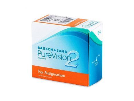 PureVision 2 Toric (6 lentile)